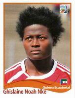Panini WM 2011 314 Ghislaine Noah Nke Guinea World Cup 11 Women