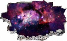 Weltall Weltraum Galaxy Sterne Wandtattoo Wandsticker Wandaufkleber C2990