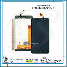 SCHERMO DISPLAY LCD + TOUCH SCREEN  WIKO LENNY 4 + BIADESIVO