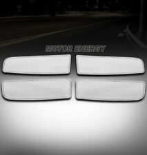 02-05 DODGE RAM PICKUP FRONT UPPER STAINLESS STEEL MESH GRILLE GRILL CHROME 4PCS
