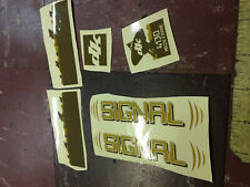 dk bicycles Signal Bike frame Sticker Decal kit