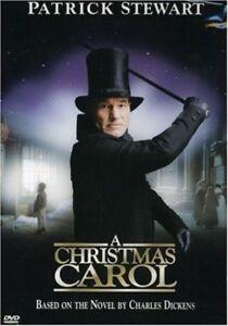 A CHRISTMAS CAROL (2000) PATRICK STEWART AS SCROOGE DVD NEW