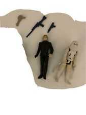 Vintage Star Wars Luke Skywalker &  Hoth Storm Trooper Action Figure