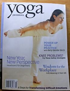 Yoga Journal Magazine Headstand for Beginners, Beryl Bender Birch February 2004
