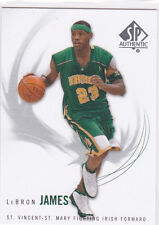 Lebron James SP AUTHENTIC Irish High School Basketball Card MIAMI HEAT STAR!