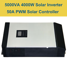5KVA Pure Sine Wave  Solar Inverter Built-in 50A PWM Solar Charge Controller LCD