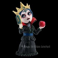 *MIRROR MIRROR* Goth Fantasy Fairytale Queen Art Cos Play Kid Resin Figurine