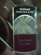Holland America Line Northern Europe Lapel / Hat Pin Souvenir original packaging