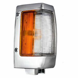 RH Right Passenger Side Marker Lamp Light Chrome fits 1990 1997 Nissan Pickup