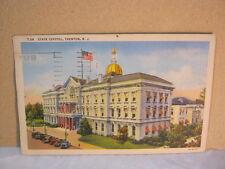 State Capitol Building Trenton N.J. Postcard  T*