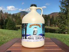 1 Gallon Pure Vermont Maple Syrup Grade A Dark Robust  (Former Grade B)