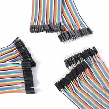 120PCS 3*40P DuPont Wire Breadboard Jumper Wire Male to Male Male to 20CM Female