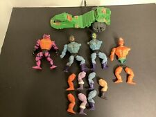 Vintage 1983 He-Man Masters of the Universe Road Ripper & Figures Parts Lot