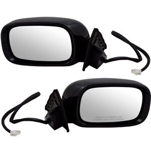 New Pair Power Fold Side Mirror Heated Memory Puddle Lamp for 01-06 Lexus LS430