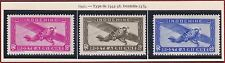 INDOCHINE PA N°17/19* Avions, 1941 French Indochina Airmail set MH