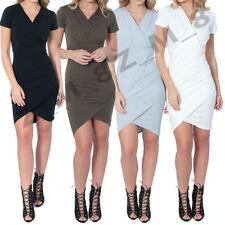 Wrap 100% Cotton Dresses for Women