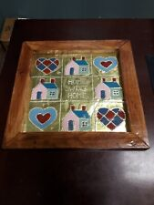 American Folk Art punched pierced painted
