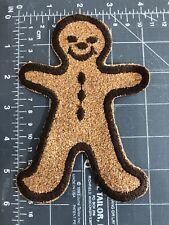 Gingerbread Man Patch Brown Cork Board Shrek Folktale Run Run As Fast As You Can