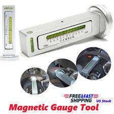 Adjustable Magnetic Gauge Tool Camber Castor Strut Wheel Alignment Truck Car
