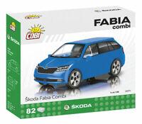 #24571 - Cobi Skoda Fabia Combi - Blau - 1:35