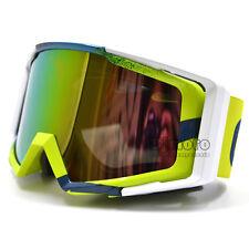 Motocross Motorcycle Racing Off-Road Adult UV Glasses Goggles Eyewear Dirt Bike