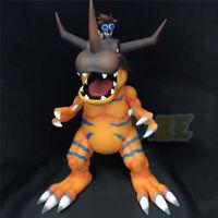 "Digimon Adventure Greymon&Yagami Taichi Painted 11"" PVC Figure Statue Model Toys"