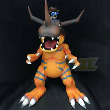 Digimon Adventure Greymon&Yagami Taichi Painted PVC Figure Model Toy 28cm