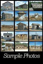 -The No Frills Prototype Photographic CD Guide to Modeling Ghost Town Structures