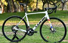 New Carbon Road Look 785 HUEZ DISC PROTEAM WHITE GLOSSY 2020 Model Size XS