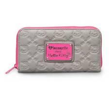Hello Kitty Embossed Long Wallet: Neon Pink by Loungefly ( Brand New ) Licensed