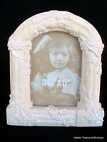 "Terra Cotta Frame 3 1/2"" x 5"" Arched Columns Grapevine Embossed Detailed NIB"