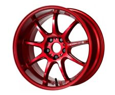 Work Emotion D9r 18x95j 23 5x1143 Candy Red Set Of 4 Wheels From Japan