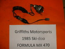 85 86 84 SKI DOO FORMULA MX 470 500 MXZ MACH 1 SKIDOO IGNITION KEY TETHER SWITCH
