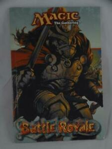 Magic The Gathering Battle Royale Instruction Guide Book