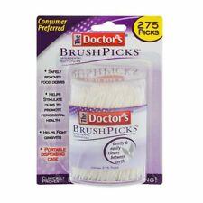 Doctors  Brushpicks Brush Picks Interdental Toothpicks 275 Count