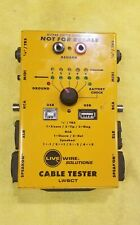 Live Wire Solutions Cable Tester Lwsct Yellow
