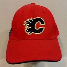 Calgary Flames NHL Hockey Strapback Baseball Dad Hat Cap