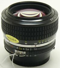 Nikon 50mm f/1.2 Nikkor AIS lens MINT