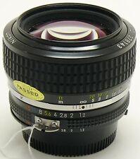 Nikon 50mm f/1.2 NIKKOR AiS lens XXXX Nuovo di zecca