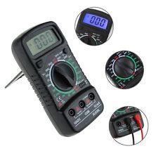 LCD Digital Multimeter AC/DC Voltmeter Volt Resistance OHM Current Tester Meter