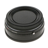 For Minolta MD MC Lens to Sony Alpha AF MA Mount Adapter A77 A65 w/ Glass