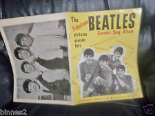 THE BEATLES 1963 FIRST SHEET MUSIC SONGBOOK WORDS, MUSICAL NOTES AND PICTURES