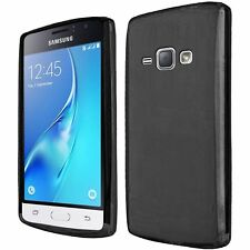 For Samsung Galaxy J1 2016 AMP 2 Frosted TPU Rubber Skin Case Cover -
