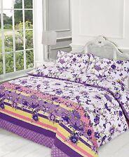 Duvet Cover Set Double Super King Size Single Designer Printed New Bedding