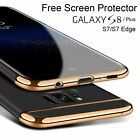 For Samsung Galaxy S8 Plus S7 Edge Case Shockproof Armor Hard Ultra Slim Covers