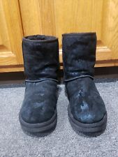 Uggs Camo Boots Very Nice condition Size 8  Please view Photos