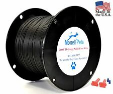 18 Gauge 35 MIL Polyethylene Solid Dog Fence Boundary Wire 2000' Spool