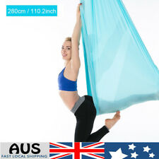Aerial Yoga Swing Hammock Therapy Trapeze Inversion Sling Straps Ceiling Fitness