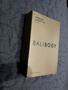 BALIBODY TANNING & BODY OIL  100ML