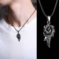 Titanium Steel Punk Necklace Stainless Steel Necklace Men's Pendant Necklace 1Pc